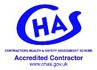 CHAS - Contractors Health & Safety Assessment Scheme Accredited