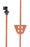 Spring Steel Electric Fence Post