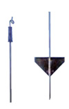Steel Pigtail Electric Fence Post